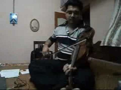 ananda loke mongola with violin