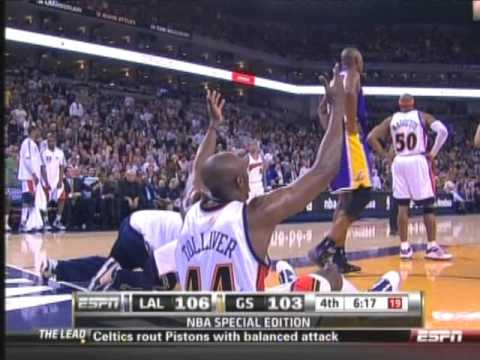 Warriors vs. Lakers (3.15.10)