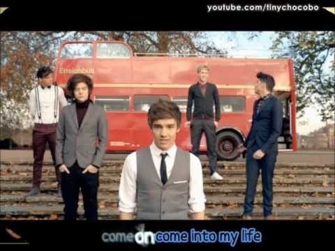 One Direction - One Thing (Sing-along Lyrics + Pictures)