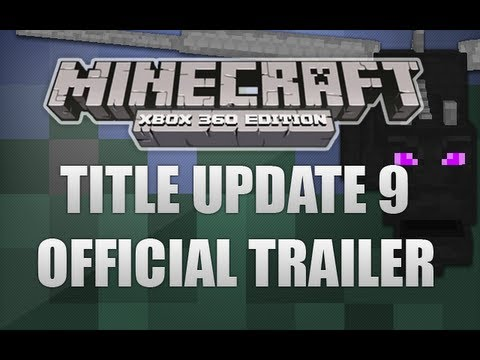 Minecraft Xbox 360 - Official Title Update 9 Trailer