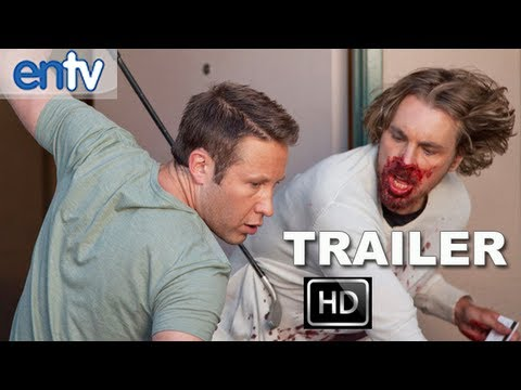 Hit And Run Official Red Band Trailer [HD]: Recreational Nudists And Epic Car Chases