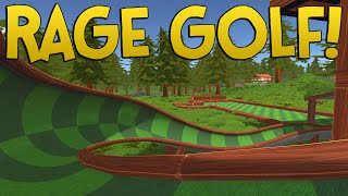 RAGE GOLF! - Golf With Friends Funny Moments