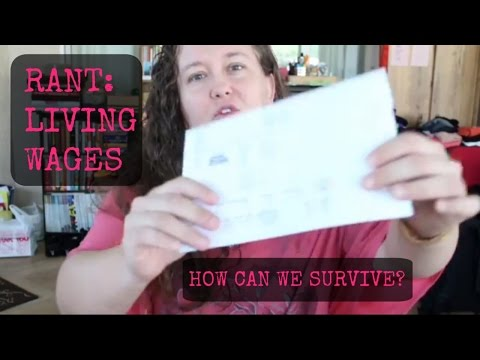 RANT: LIVING WAGES