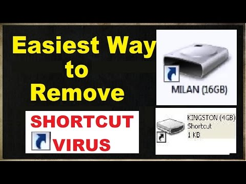 Easiest Way to Remove SHORTCUT Virus Permanently from your Computer, Pendrive, Memory Card [SOLVED]