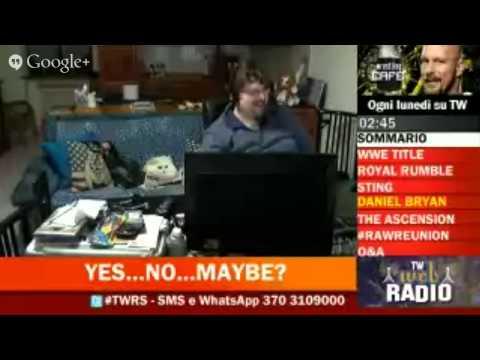 TW Web Radio LIVE - WWE Monday Night Raw Post-Show 20/01/2015