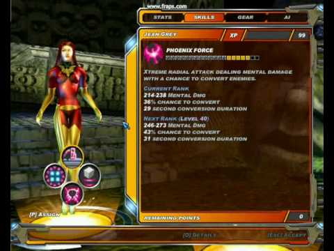 Jean Grey Power Booster Video