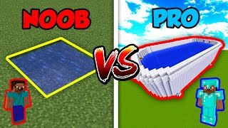 Minecraft NOOB vs. PRO: SWIMMING POOL in Minecraft!