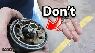 This Oil Filter Will Destroy Your Car