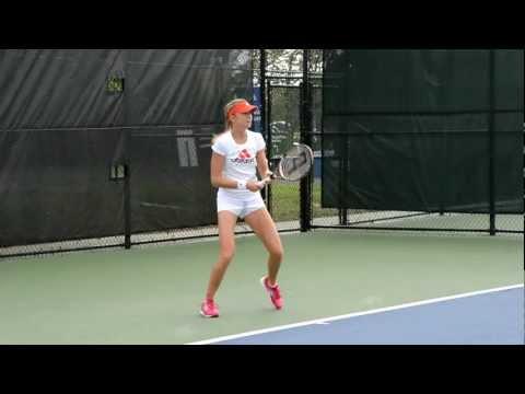 HD Daniela Hanutchova Practice at 2012 Cincinnati Masters Tennis