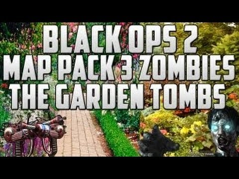 Black Ops 2 Zombies DLC Map Pack 3 - Garden Tombs Map - BO2 Easter Egg THEORY