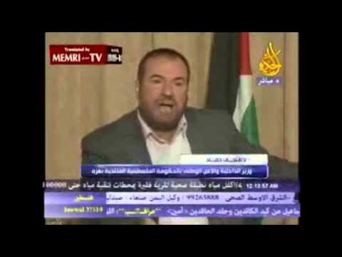 SHOCKING! - Hamas member admits there is no such thing as a Palestinian people