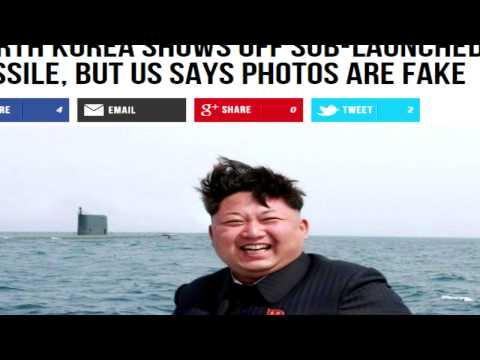 Western Media Fail: North Korean Submarine Missile