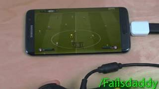 FIFA 17 Samsung Galaxy S6 Edge Plus NVIDIA GameStream  Controller Gameplay