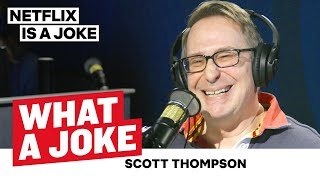 Scott Thompson Copes With Comedy | What A Joke | Netflix Is A Joke