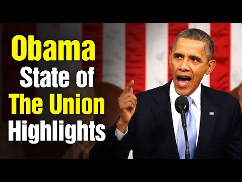 US President Obama historic speech at State of the Union – Highlights