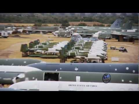 Today's Air Force: At The Boneyard video