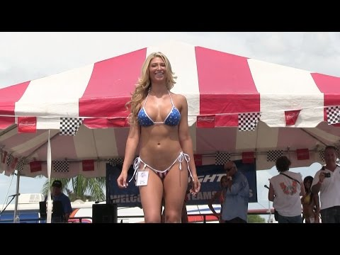 2014 Miss Super Boat Bikini Contest - Sarasota