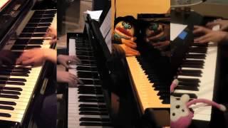 「太陽曰く燃えよカオス」を4台ピアノで弾いてみた【4D PIANO】