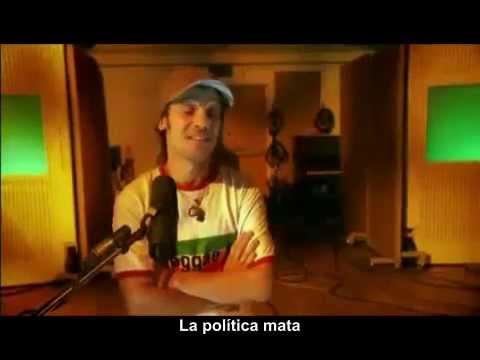 Manu Chao  Politik Kills / Rainin In Paradize (Con entrevista, Abbey Road), Sub Español