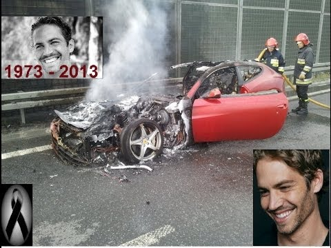 Video del Accidente de Paul Walker Actor de Rapido Y Furioso 30/11/13 y Su Funeral