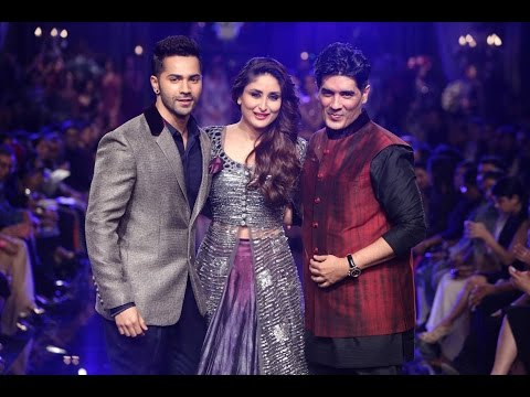 Varun Dhawan, Kareena Kapoor walk For Manish Malhotra at LFW 2014