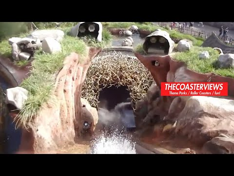 Splash Mountain (HD Front-Seat POV) Disneyland California