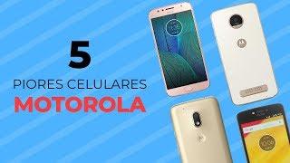5 celulares ZUADOS da MOTOROLA