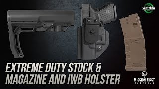 Mission First Tactical Extreme Duty and IWB Holster - SHOT Show 2019