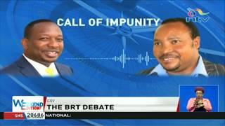 War of words between Governor Sonko and Waititu over BRT buses plan