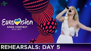 EUROVISION 2017 REHEARSALS: Day 5 l MY TOP 15