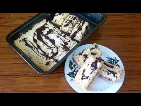Песочный пирог с повидлом!!! ( обалденно вкусный, рассыпчатый и очень нежный!!!)