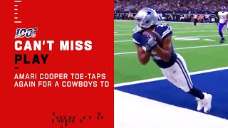 Amari Cooper Toe-Taps for a Cowboys TD!