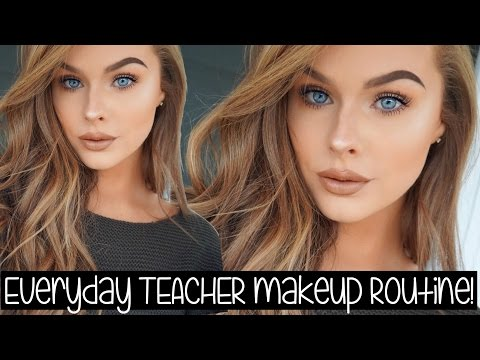 My Everyday TEACHER Makeup Routine!