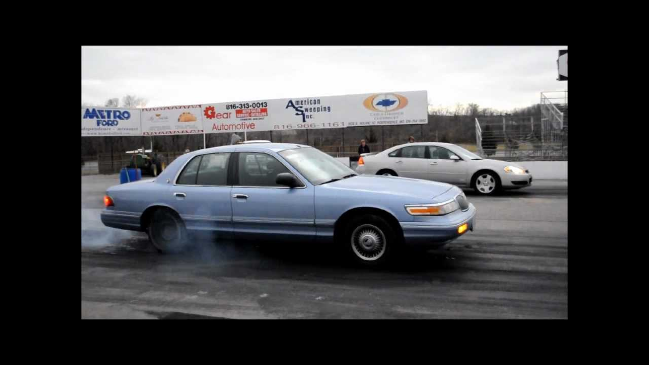 06 11 Impala Ss And Grand Marquis Burn And Drag Race