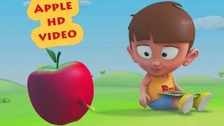 A For Apple || Nursey Rhymes Collection For Kids