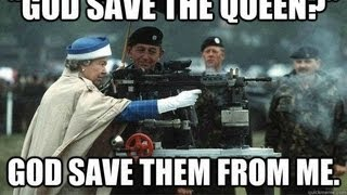 GOD SAVE THE QUEEN | COUNTER STRIKE GLOBAL OFFENSIVE GUN GAME (720p)