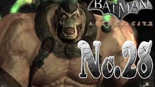 Batman arkham city - Bane will break you or hug his Teddy Bear