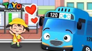 Bus l Job Game #1 l Learn Street Vehicles l Tayo the Little Bus