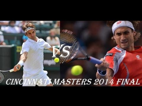 Roger Federer vs David Ferrer Cincinnati Masters 2014 Final HD