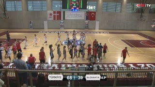 Турция до 16 : Словакия до 16