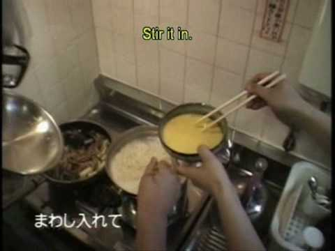 It is a studio Ghibli tradition for the staff to cook for each other on rotation during crunch time. Here is a video of Hayao Miyazaki cooking ramen for the animators at Studio Ghibli
