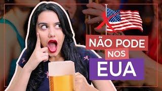 12 COSTUMES AMERICANOS QUE CHOCAM OS BRASILEIROS