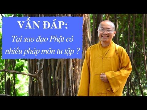 Vấn đáp: Tại sao đạo Phật có nhiều pháp môn tu tập ?