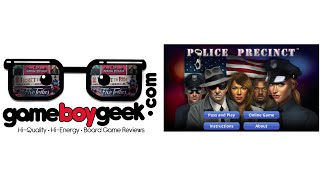 Police Precinct App Preview with the Game Boy Geek