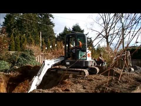 Contaminated West Side Vancouver BC Oil Tank Removal with SNR March 2015