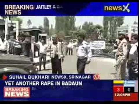 Arun Jaitley meets Jammu and Kashmir Chief Minister Omar Abdullah