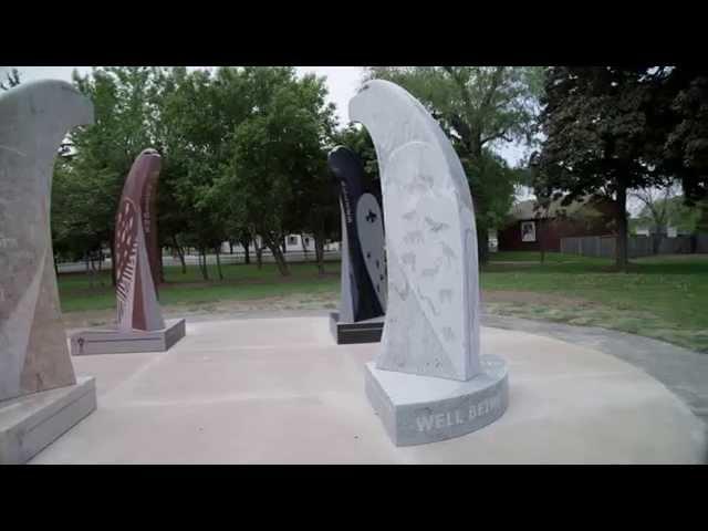 Battlefield Public Art - Eagles Among Us