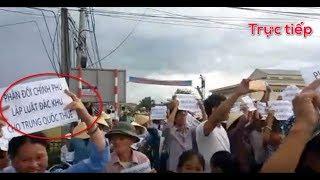 🔴Trực tiếp: Tổng biểu-tình phản đối dự luật cho thuê đất 99 năm trên cả nước