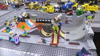 New LEGO Skatepark custom MOC! 👍