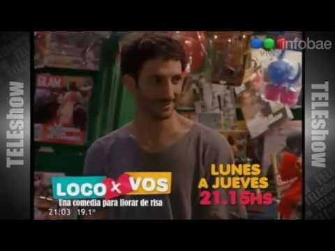 Tití Fernández, premiado con un Martín Fierro por su participación en Loco x vos